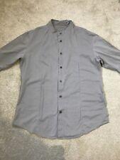 Mens All Saints Grey Shirt Size Medium