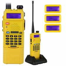 NKTECH UV-5R PLUS Tri-Power 8W 4W Two-Way Radio Walkie/Talkie 3800mAh Battery YE