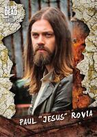 "Walking Dead Season 8 Part 1 CHARACTER Insert Card C-15 / PAUL ""JESUS"" ROVIA"