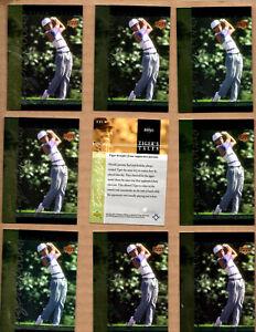 10 card Lot of 2001 Upper Deck Tiger's Tales #TT5 Tiger Woods
