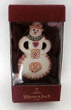NIB Villeroy & Boch Ginger Bread Man Christmas Tree Ornament