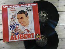 ALIBERT A PETITS PAS DANS LE MIDI 2 LP 33T VINYLE EX COVER EX ORIGINAL 1978