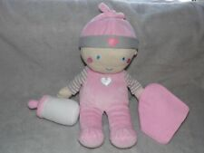 CHAD VALLEY PINK DOLL TOY COMFORTER DOUDOU