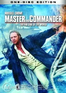 MASTER and COMMANDER starring Russell Crowe (DVD, 2004) - LIKE NEW!!!