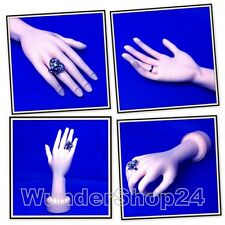 Malleable Decor Hand Showcase Hand Mannequin Deco Hand Ring Presentation