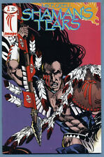 Shaman's Tears #2 1993 Fold-Out Poster Cover Mike Grell Image Comics /B