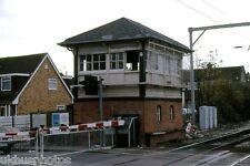 Navigation Road Signal Box Manchester 1986 Rail Photo