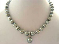 RARE High TAHITIAN PEARL NECKLACE WITH PENDANT