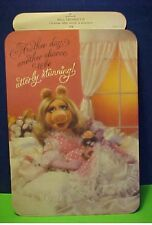 "4 Muppets Miss Piggy ""Another day...Simple needs...star treatment die cuts"
