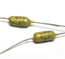 2x MULLARD MUSTARD Kondensator 0.022 µF / 400 Volt, axial