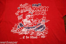 VINTAGE 9TH ANNUAL 4TH OF JULY AVON DINGHY RACE ISTHMS T-SHIRT SIZE S 1981