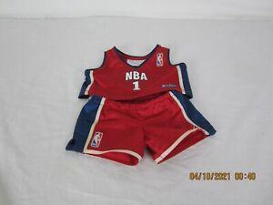 Build A Bear NBA Basketball Outfit Preowned