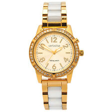 Verbalise Ladies Gold Talking Watch with Swarovski Crystals