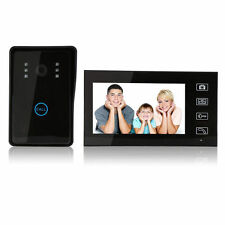 "7"" 2.4G Wireless Video Door Phone Doorbell Intercom Home Security Camera Monitor"
