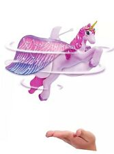 Pink Remote Control Flying Unicorn Magically Fly Over Your Hand USB Chargeable