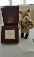 R John Wright Holiday Winnie The Pooh Doll 225/1000 SIGNED CHRISTOPHER ROBIN