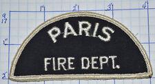 CANADA, PARIS FIRE DEPT VINTAGE PATCH
