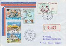 Elfenbeinküste  Einschreiben  Beleg  # 3  Eisenbahn  etc.