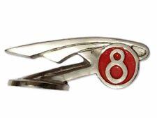 Vintage Morris 8 Car Bonnet Badge Emblem Plastic Chrome Plated