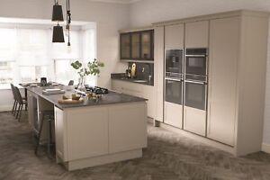 Ellerton Handleless Shaker, Complete Kitchen, Rigid Units in 3 stock colours