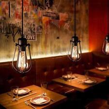 Vintage Light Retro Industrial Metal Shade Ceiling Pendant Lamps Edison Bulb