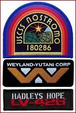 USCSS Nostromo Weyland Yutani Corp Hadley's Hope 3 Patch Alien Movie Collector