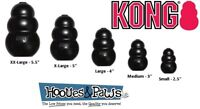 Kong Extreme Dog Toy Rubber Black Tough Chew