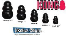 Kong Extreme Dog Toy Rubber Black Tough Chew