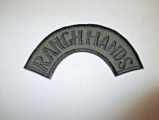 b6595 Vietnam US Air Force OD Ranch Hands tab Bush hat shoulder Special  IR20C