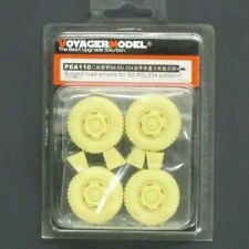 Voyager Model 1/35 Scale Bulged Road Wheels for Sd Kfz 234 Pattern 1 No. PEA110