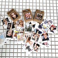 KPOP BTS BLACKPINK Lomo Photo Card Bangtan Boys HD Photocard 40pcs/set Xmas Gift
