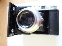 Vintage Voigtlander Perkeo I Film Camera