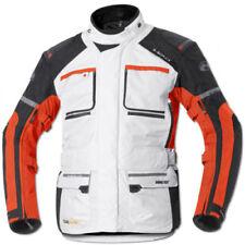 Giacche grigi per motociclista tessuto , Taglia XS