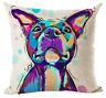 STAFFORDSHIRE BULL TERRIER Cushion Cover! Staffy Dog Art Linen Pillow 45cm Gift