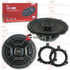 POLK AUDIO 6.5-INCH 2-WAY CAR AUDIO BOAT MARINE COAXIAL SPEAKERS PAIR 6-1/2""