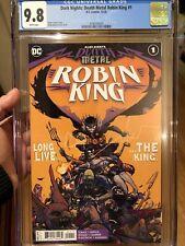 Dark Nights: Death Metal Robin King #1 CGC 9.8 🔥 Rossmo Cover 🔥 L@@K!