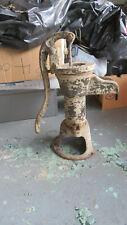 Vintage Water Pump Cast Iron Red Cross MFG Hand Water Well Pump