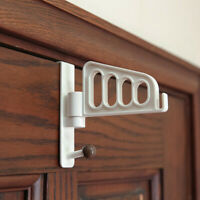 Home Over Door Hanger Hooks Clothes Coat Towels Storage Bathroom Kitchen Hooks