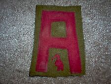 WWI US Army patch 1st Army Railroad Artillery Patch AEF