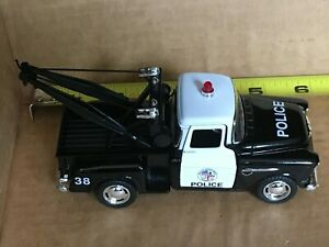 1955 Chevy Stepside Pickup, Police, Tow Truck, Diecast   1:32