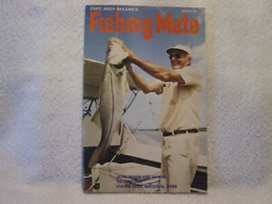 FISHING MATE Capt AndyMcLean 1971 booklet FISH EVERGLADES NATIONAL PARK FLORIDA