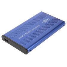 """CARCASA EXTERNA PARA DISCO DURO INTERO 2.5"""" HDD SATA DE USB 2.0 - AZUL"""