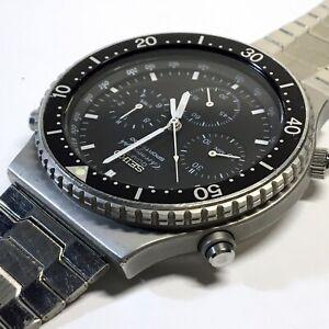 Seiko Sports 100 Quartz Chronograph 1983 'Speedmaster' 7A28 7040 - Working