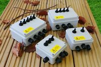 Outdoor Switch Box for Lighting, Ponds and Pumps -  2, 3, 4, 5 and 6 Way