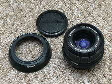 Minolta MD 28mm f2.8 Prime Manual Focus Lens With Correct Hood  - (#17)