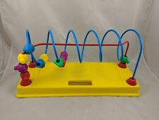"Playskool Bead Maze Toy Cars Vehicles Transportation 15"""