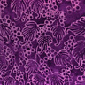 "Batik Mirah Sonoma Vineyard 100% Cotton Purple Quilting Fabric 44"" Wide 1yd 23"""