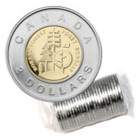 2011 Canada Parks $2 Boreal Forest Toonie From Original Mint Wrapped Roll UNC BU
