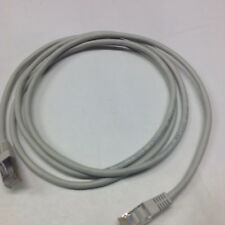 New 5ft Cat5E Sheilded Cable NEW GRAY Network Computer LOT OF 12