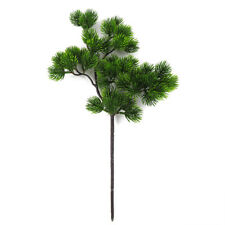 Simulation Pine Branch Artificial Wall Hanging Plants Bunch Bonsai Decoration